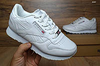 Кроссовки Reebok женские кожаные белые Рибок