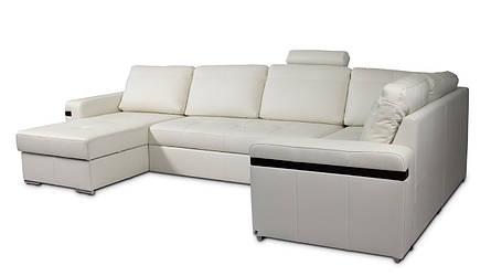 Современный модульный диван в коже FX-10 B2 угол C, фото 2