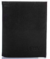 Классическое черное портмоне мужское кожаное LETRA (ЛЕТРА) LMI100.04.1004