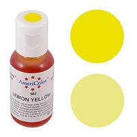 Краситель гелевый Americolor Лимонно-Желтый 21 г