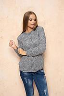 Серый женский свитер Линда ТМ Arizzo 44-46 размеры