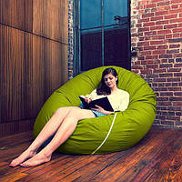 """Кресло мешок Остров""""цвет 002 бескаркасное кресло,пуфик мешок,кресло пуф, мягкое кресло пуф."""