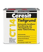 Грунтовка глубокого проникновения Ceresit Cт14  5л - на растворителях