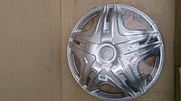 Колпак колеса декоративный R 16 Газель переднего Дакар серебро  (комплект 2 шт) пр. STAR (пр-во Россия)