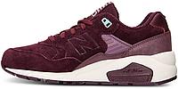 Женские кроссовки New Balance 580, Нью Беланс 580 бордовые