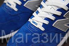 Женские кроссовки New Balance 996 Blue Нью Беланс 996 синие, фото 2