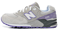Женские кроссовки New Balance 999, Нью Беланс 999 серые