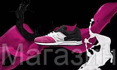 Женские кроссовки New Balance 997.5, Нью Баланс 997.5 розовые/белые/черные, фото 2