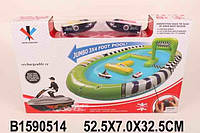 Набор катеров на на радио управлении 2шт + бассейн 91*122см