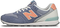 Женские кроссовки New Balance 996, Нью Баланс 996 синие