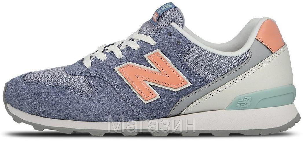 Женские кроссовки New Balance 996 Нью Баланс 996 синие - Магазин обуви New  York в Киеве 15d83113adc04