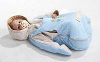 Утепленный конверт для новорожденного СОЛНЫШКО