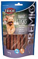 Лакомство Trixie PREMIO Rabbit Sticks для собак с кроликом, 100 г