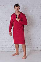 Сорочка мужская бордо 701, фото 1