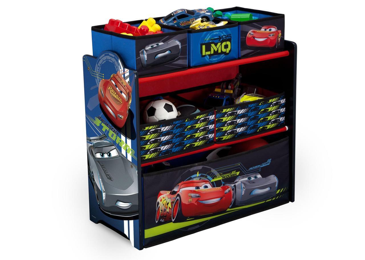 Органайзер комод ящик для игрушек Тачки Мак Квин Delta Children, фото 1
