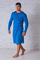 Сорочка мужская бирюза 701, фото 1
