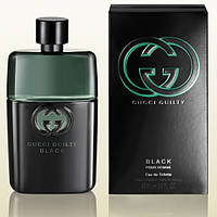 Парфюмированная вода Gucci Guilty Black Pour Homme Голландия лицензия 100% приближённое к оригиналу