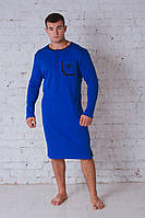 Сорочка мужская электрик 701, фото 1