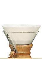 Фильтры Chemex для 6/8/10 чашек, круглые, белые 100 штук