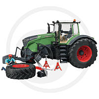 04041 Bruder трактор Fendt 1050 Vario с водителем и инструментами