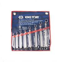 Набор ключей накидных 8 шт. (6-23 мм) KING TONY