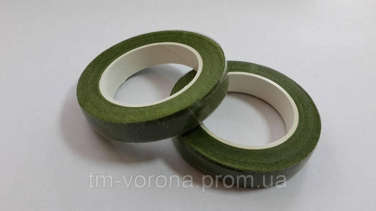 Тейп лента 18м светло-зелёный