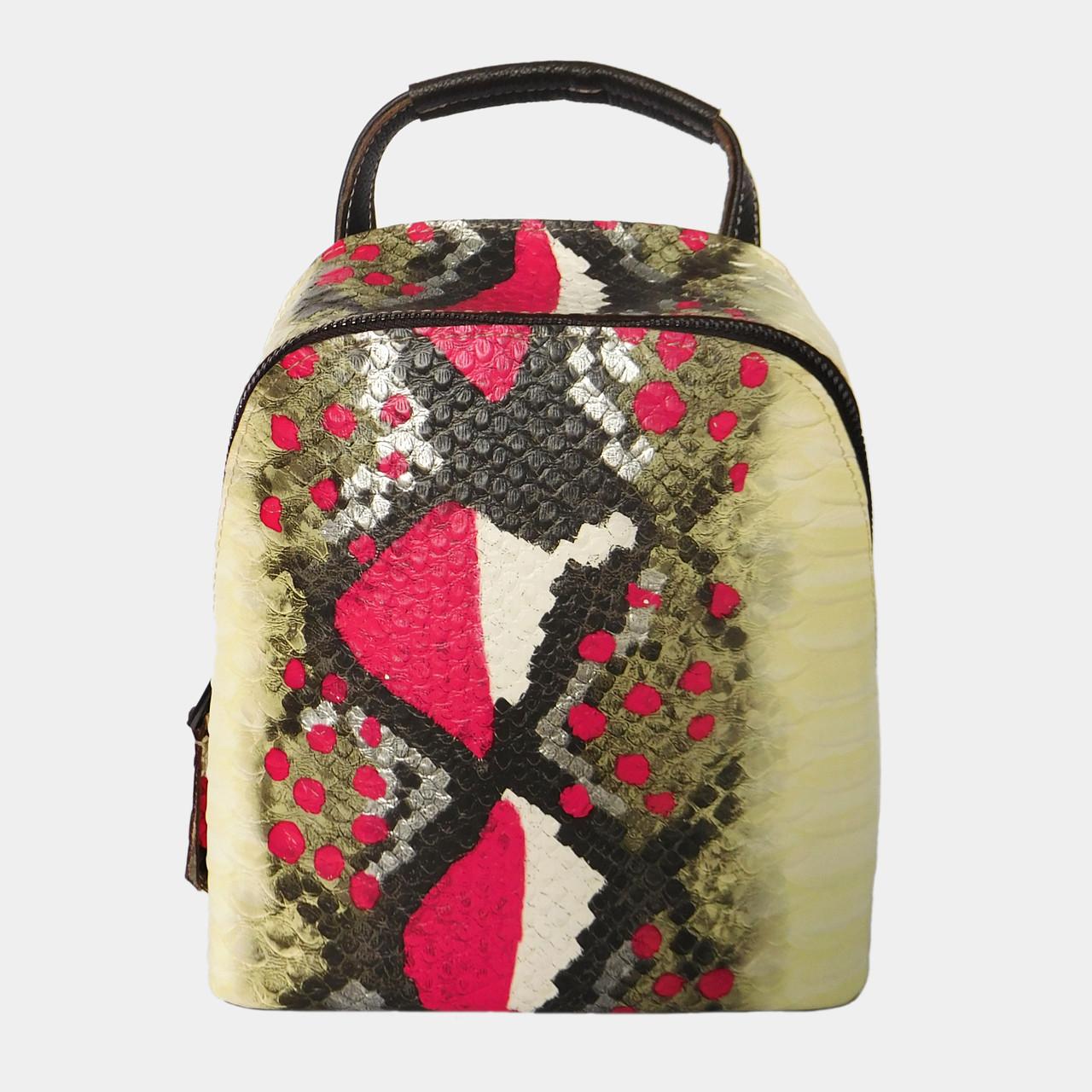 Сумка-рюкзак жіноча з натуральної шкіри (в кольорах)   Сумка-рюкзак женская  из натуральной кожи (в цветах) 0227b416a183d