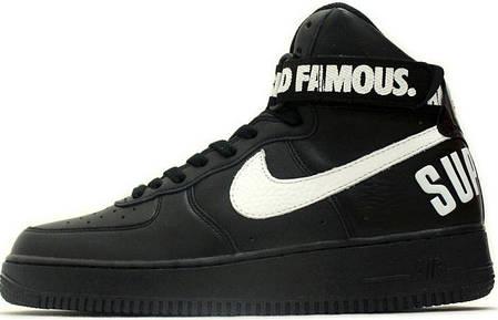 9039743aa417 Мужские кроссовки Nike Air Force 1 High Supreme Black купить в ...