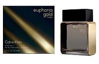 Парфюмированная вода Calvin Klein Euphoria Gold Men Голландия лицензия 100% приближённое к оригиналу