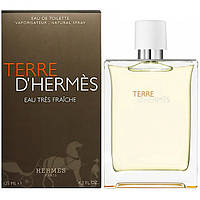 Парфюмированная вода Hermes Terre D'Hermes Eau Tres Fraiche Голландия лицензия 100% приближённое к о