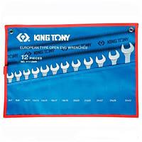 Набор ключей рожковых 12 шт. (6-32 мм) KING TONY