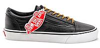 Стильные Vans Old Skool (black/yellow laces) - 29z   мужские летние.  Мужские кеды ванс