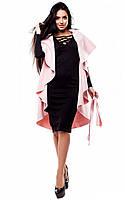 Жіночий рожевий жилет без рукавів Polin