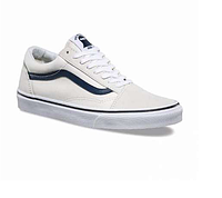 Стильные Vans Old Skool (white/light grey/black) - 22z  мужские летние.  Мужские кеды ванс