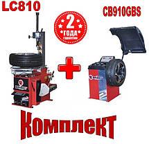 Шиномонтажное оборудование комплект Bright CB910GBS и Bright  LC810, фото 3