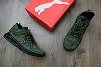 Мужские кроссовки Puma Ignite EvoKnit Olive