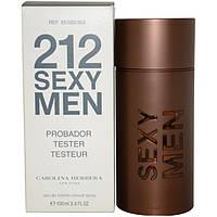 Парфюмированная вода - Тестер Carolina Herrera 212 Sexy Men Лицензия Голландия 100% копия Оригинала