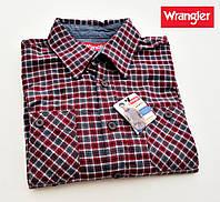 Мужская рубашка фланелевая Wrangler®(США) (L) /100% хлопок /Оригинал из США
