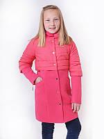 Кашемировое пальто на девочку ЛЮБОЧКА 122-140см