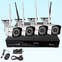 Комплект IP WIFI видеонаблюдения NVK-6604B-WIFI-KIT
