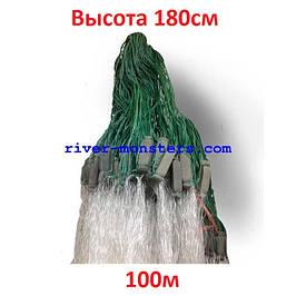 Одностенные 1,8м*100 свинцовый груз(капля)