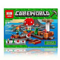 """Конструктор Lego Minecraft Lepin 18023 """"Грибной остров"""" (аналог Minecraft 21129)"""