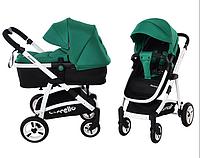 Универсальная коляска-трансформер 2в1 CARRELLO Fortuna CRL-9001 Green ***