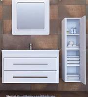 Комплект мебели для ванной (тумба, зеркало, пенал) Geneva Juventa (Gn-105+GnP-120+TcM-80)
