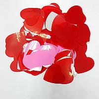 Конфетти сердечки ассорти 25г