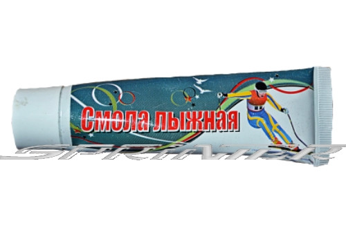 Смола лыжная, предназначена для пропитки деревянных лыж. Ламинатная туба 50гр