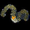 Цепь 50зв. Китай супер зуб (золотая)