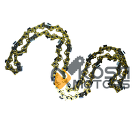 Цепь 57 зв. Китай супер зуб (Золотая)
