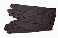 Женские стрейчевые перчатки Цветные Коричневые Маленькие, фото 1