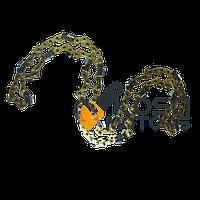 Цепь 64зв. Китай супер зуб (золотая)